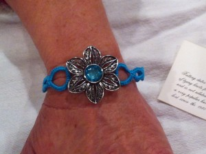 Tatted Bracelet available at A Taste of Soup and Art Exhibit